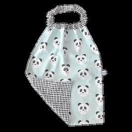 serviette elastiquée panda