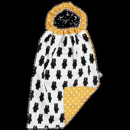 serviette elastiquée ours