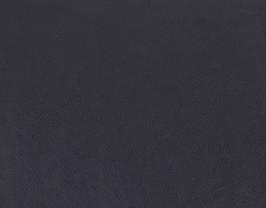 Morceau de cuir de chèvre chagrin bleu nuit