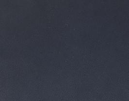 Morceau de cuir de vachette grainé bleu nuit