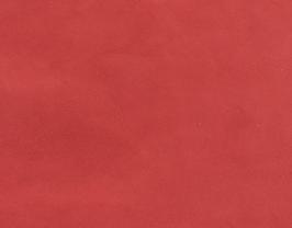 Morceau de cuir d'agneau velours rouge