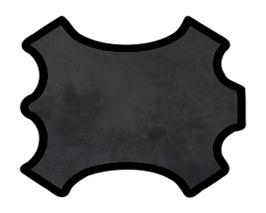 Peau de veau velours noir