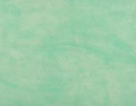 Coupon de cuir de vachette vert pastel