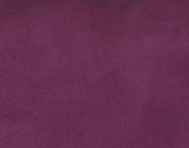 Coupon de cuir de veau velours violet