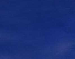 Morceau de cuir de vachette bleu roi