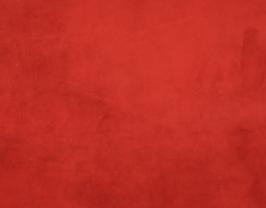 Morceau de cuir de veau velours cachemire rouge