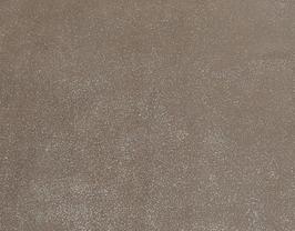 Morceau de cuir de veau nubuck doré pailleté