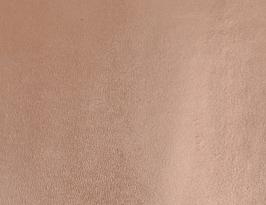 Coupon de cuir de vachette nude métallisé
