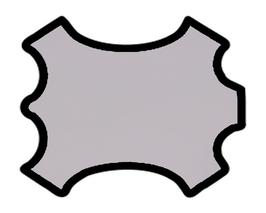 Peau d'agneau nappa violet pastel métallisé