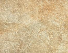 Coupon de cuir de chèvre nappa doré marbré métallisé