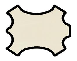 Peau de veau ivoire