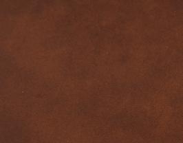 Coupon de cuir de vachette châtaigne