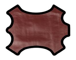 Demi peau de vachette rose métallisé