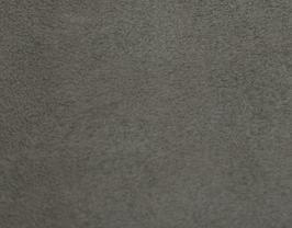 Coupon de cuir de chèvre velours gris souris