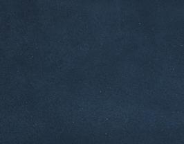 Coupon de cuir d'agneau velours bleu nocturne