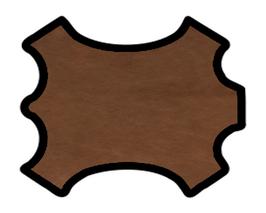 Peau de chèvre chagrin bronze
