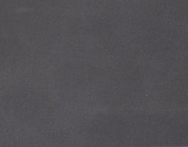 Coupon de cuir d'agneau velours gris fer
