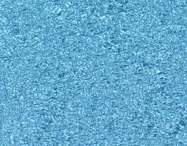 Coupon de cuir de chèvre grainé bleu ciel métallisé