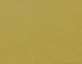 Morceau de cuir d'agneau velours jaune