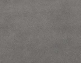 Coupon de cuir d'agneau velours gris éléphant
