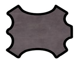 Peau de veau gris vintage