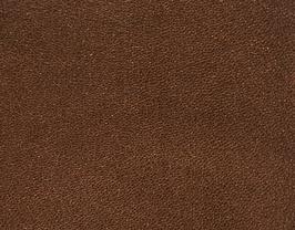 Coupon de cuir d'agneau marron métallisé