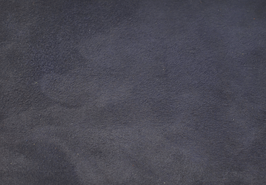 Coupon de cuir d'agneau velours bleu marine