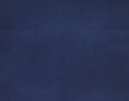 Morceau de cuir d'agneau bleu marine vintage
