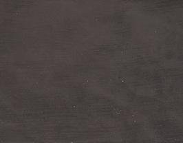 Morceau de cuir d'agneau velours marron brillant