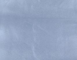 Coupon de cuir d'agneau nappa bleu jeans métallisé