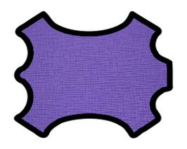 Peau de vachette imprimée violet