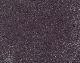 Coupon de cuir de chèvre lilas pailleté