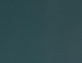 Coupon de cuir d'agneau nappa bleu pétrole