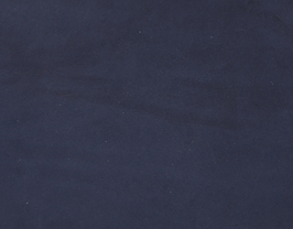 Coupon de cuir de vachette nubuck bleu nuit