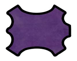 Peau de chèvre violet marbré