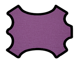 Peau de vachette imprimée lilas