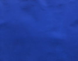 Morceau de cuir de chèvre bleu métallisé