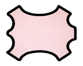Peau de vachette imprimée rose pâle