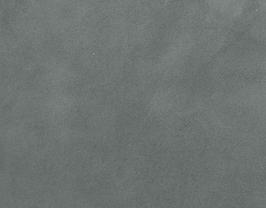 Coupon de cuir de veau velours gris