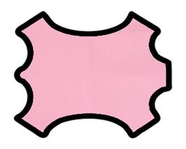 Peau de chèvre nappa rose dragée