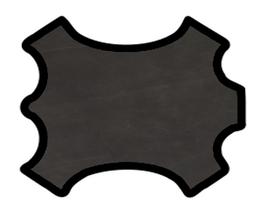 Peau de mouton noir