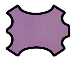 Peau d'agneau grainé lilas