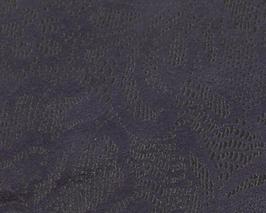 Coupon de cuir de vachette nubuck violet fleurs
