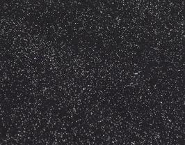 Coupon de cuir de vachette noir pailleté