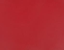 Coupon de cuir d'agneau nappa rouge carmin