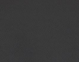 Morceau de cuir de chèvre nappa noir grainé