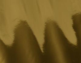 Morceau de cuir d'agneau doré miroir