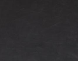 Morceau de cuir de vachette nubuck noir