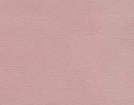 Coupon de cuir de chèvre nubuck rose clair