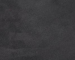 Coupon de cuir d'agneau velours gris